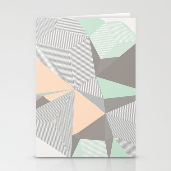 Origami II Stationery Card