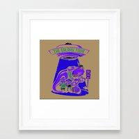 Galaxy Tour Framed Art Print