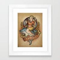 Sploosh! Framed Art Print