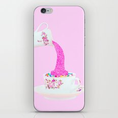 Glitter Tea Party iPhone & iPod Skin