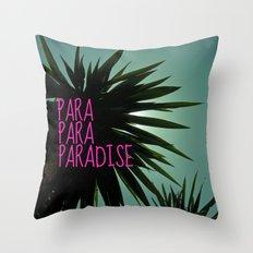 EXOTIC PARADISE Throw Pillow