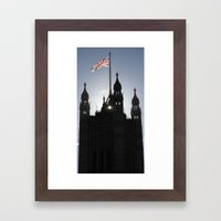 Good Morning, London Framed Art Print