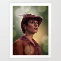 Star Trek: Troi Art Print