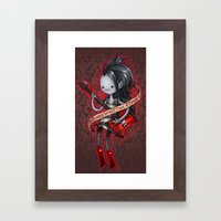Sorry Im Not  Made Of Su… Framed Art Print