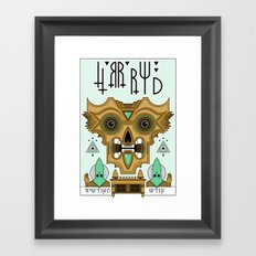 HRRRWD Framed Art Print
