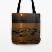 Painting A Golden Pictur… Tote Bag