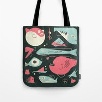 Weird Fishes Tote Bag