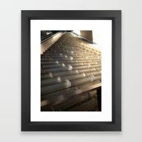 Cascading Water Framed Art Print