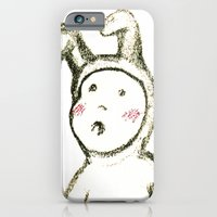 iPhone & iPod Case featuring Baby Bunny by Axiomatic Art