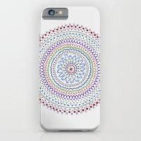iPhone & iPod Case featuring Mandala Smile B by Felipe B. C. Gama