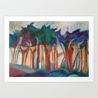 Abstract Landscape I Art Print