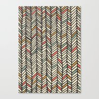 Canvas Print featuring Autumn Threads by Samantha Johnson