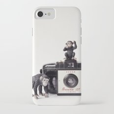 The Monkies and The Brownie iPhone 7 Slim Case