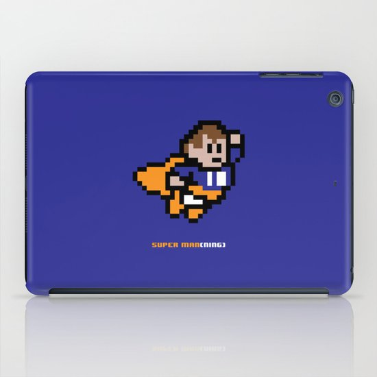 8-Bit: Super Man(ning) iPad Case