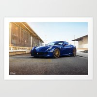 Ferrari 599 GTB Art Print