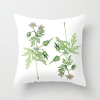 Flowers For Dad Throw Pillow