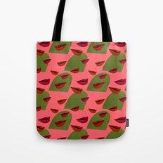 retro lips (2) Tote Bag