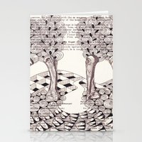 Forest of Fingers Stationery Cards