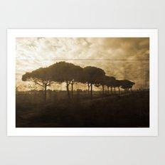 The Italian Traveler Art Print