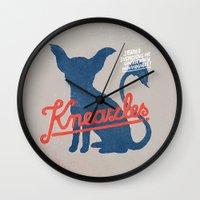 Kneazles Wall Clock