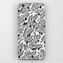 Black Olive Branches iPhone & iPod Skin