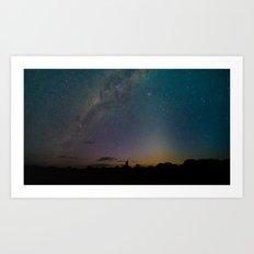 Milky Way 1 Art Print
