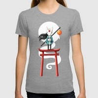 Torii 2 Womens Fitted Tee Tri-Grey SMALL
