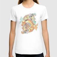 Blowfish Womens Fitted Tee White SMALL