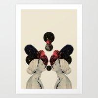 helen and clytemnestra Art Print