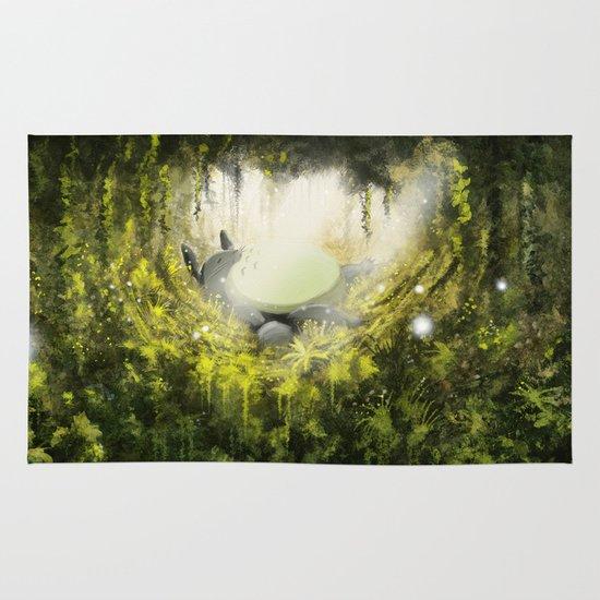 Totoro's Dream Area & Throw Rug