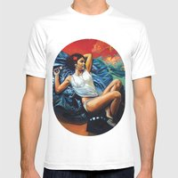 Yann Mens Fitted Tee White SMALL