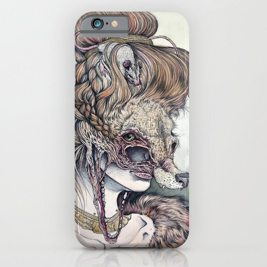 Vulpes Masquerade, now as a print! iPhone & iPod Case