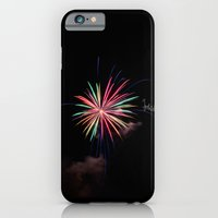 Star Of Fireworks iPhone 6 Slim Case