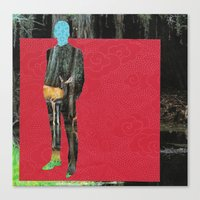 It's  Your Turn To Say Something Mr. Darcy Canvas Print