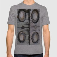 NUTS AND BOLTS Mens Fitted Tee Athletic Grey SMALL