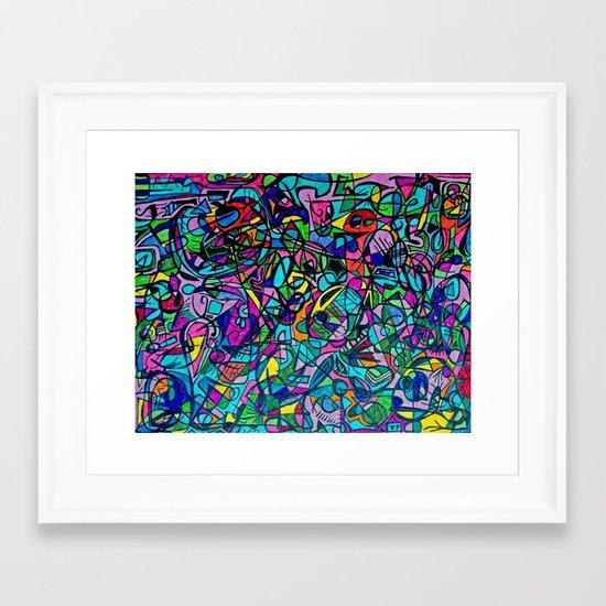 Roadtrip Diddle #1 Framed Art Print