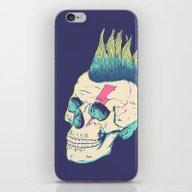 Skull Punk iPhone & iPod Skin