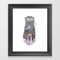 The Shaman Framed Art Print