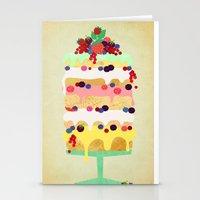Fairy Cake Stationery Cards