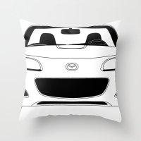 NC Miata/MX-5 Throw Pillow