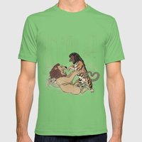 The Chimera Fight Mens Fitted Tee Grass SMALL