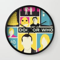Doctor Who - The Ninth D… Wall Clock