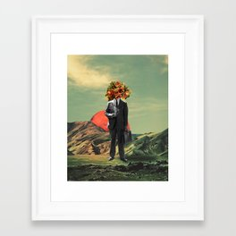 Framed Art Print - Business As Usual - TRASH RIOT