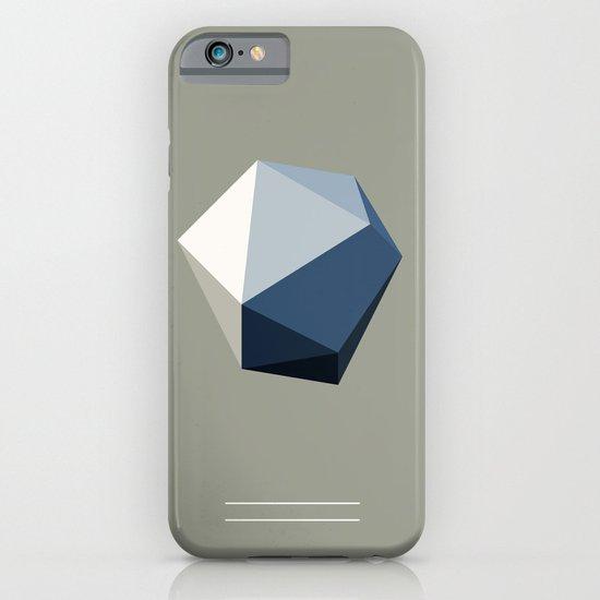 Minimal Geometric Polygon Art iPhone & iPod Case