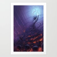 The Sorcerer Art Print