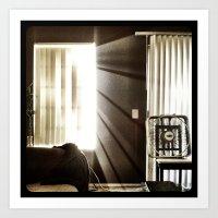 Let The Light Shine Thro… Art Print