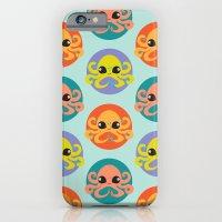 Cute Octopus Overload iPhone 6 Slim Case