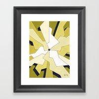 Mono Pattern | The Fragm… Framed Art Print