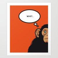 Pop Icon - Bonobo Art Print