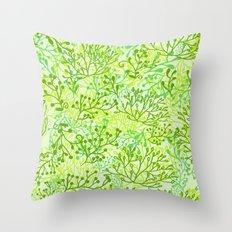 Plants Throw Pillow